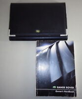 Bordmappe + Handbuch   Owner's manual + wallet Range Rover Stand 2002