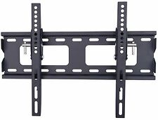 Tilting Flat Slim TV Wall Mount Bracket Fits Most 32 40 55 LED LCD VESA 16x16 In