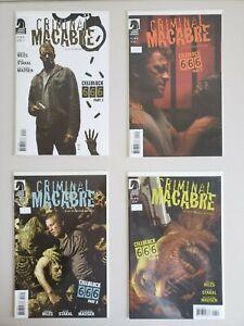 Criminal Macabre Cell Block 666 1 2 3 4 Dark Horse Set Series Run Lot 1-4 VF/NM