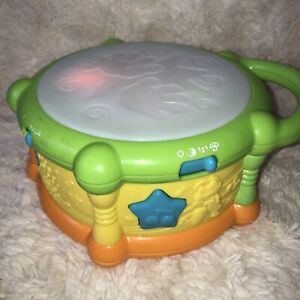 Leap Frog Musical Lights & Sounds Drum Children's Learning Toy - FRENCH/ENGLISH