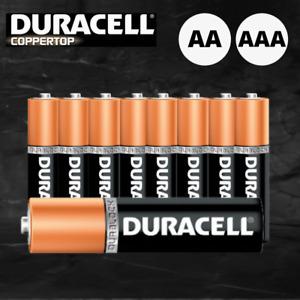Geniune Duracell AA AAA Battery Coppertop Alkaline Batteries AU Stock 5 10 15 20