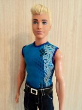 Barbie / Ken Blonde Fashionistas Ryan in Jeans, T-Shirt and Boots