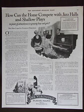 1922 The Virtuolo Player Piano Magazine Advertisement