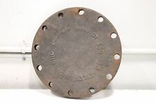 "Tyler Union 10"" Cast Iron 12-Hole Heavy Duty Lid Cover Cap 250 DI C110"