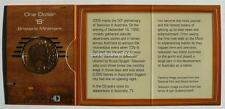 2006 50 YEARS OF TELEVISION One Dollar Uncirculated Coin Mintmark B