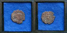Follis Constantinus II. como Augusto mzst: Roma. Virtus. rara vez.