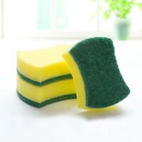 10Pcs Tools Pads Gadget Scouring Foam Cleaning Sponge Kitchen Cleaner Functional