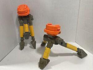 Lot 2 Nerf N-Strike VULCAN EBF-25 Dart Gun Tripod Tri-pod Replacement Parts