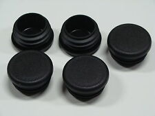 "Caplugs 5 - 1 1/4"" 1.250 Inch Black Plastic Universal Multi Tubing Pipe Plug NEW"
