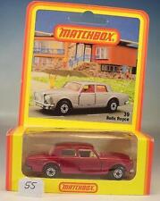 Matchbox Superfast Nr. 39 Rolls Royce rotmetallic Deutsche Hösbach OVP #055