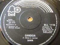 """DAWN - CANDIDA  7"""" VINYL"""