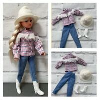 "Sindy Outfit "" Rodeo"" 1982  Complete HTF Item With Horse But No Doll"
