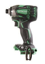 hitachi impact driver drill brand hitachi wh18dbdl2p4 18v cordless lithiumion brushless triple hammer impact drivers for sale ebay