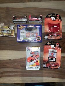 Lot Of Vtg Dale Earnhardt Jr. 1:64 NASCAR Diecast Winners Circle Action + MORE