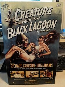 "SIDESHOW CREATURE FROM THE BLACK LAGOON 12"" FIGURE.  M in NM Unopened Box"