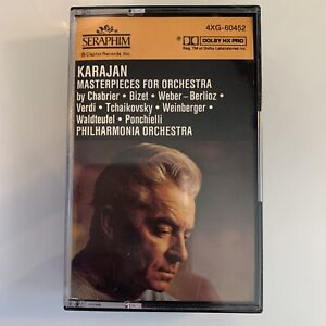 Karajan Conducts Masterpieces for Orchestra (Cassette)