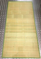 Traditional bamboo mat single 175cm x 85cm natural curtain wall paper Floor 单人竹席