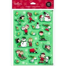 Peanuts Winter Stickers 40 pcs