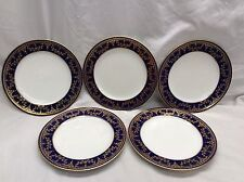 Nice Vtg 5 Spode Copelands made in England Luncheon Salad Plates 1 Chip