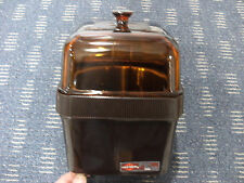 West Bend 74207 Potato Bakery Oven with Brown/Amber glass lid (cook 4 in 30 min)
