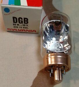 Sylvania DGB Vintage Projector Lamp Bulb 80 W 30 V 15 Hours