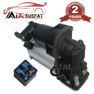 ⭐⭐⭐⭐⭐ AIR SUSPENSION COMPRESSOR WITH RELAY FOR MERCEDES GL ML W164 PUMP AIRMATIC