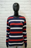 US POLO ASSN Maglione Donna Taglia L Pullover Felpa Sweater Shirt Cardigan