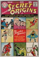 Secret Origins #1 giant 1961 DC Batman/Superman Flash Green Lantern Wonder Woman