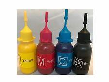 Pigment Bulk refill ink bottle for HP Canon Brother inkjet printer 4x30ml
