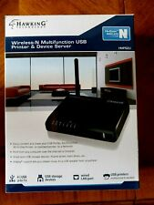 Hawking Hmps2U Wireless-N Multi-Function Usb Printer and Device Server-New