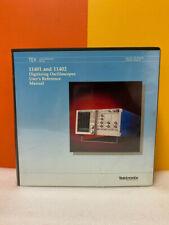 Tektronix 070 5791 00 11401 Amp 11402 Digitizing Oscilloscope Reference Manual
