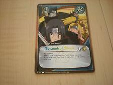 Carte Naruto Tyrannical Storm rare !!!