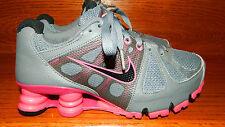 Nike Shox Agent 438683-006 Running Training Women Size 6 Gray Black Pink
