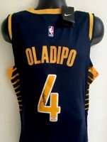 Victor Oladipo Indiana Pacers Autographed Signed Nike Swingman Jersey PSA COA 50