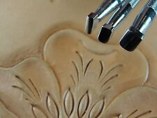 Steel Craft Japan - Smooth Beveler Stamps (3-Piece Set, Leather Stamping Tools)