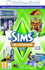 Les Sims 3 Vie Citadine Kit d'extension Town Life EA Origin Carte - PC Jeu - FR