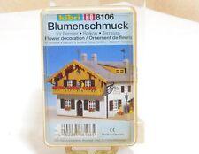 Kibri 8106  Spur H0   Blumen Blumenschmuck für Fenster Terrasse Balkon  OVP
