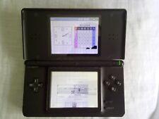 Nintendo Ds Lite Negra Averiada - Funciona Perfectamente Pantalla Superior Rota
