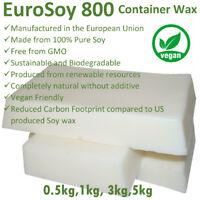 1kg 3kg 5kg PROFESSIONAL 100% NATURAL SOY WAX Melt & Candle Making Supplies BULK
