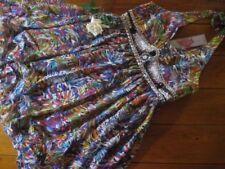 Knee Length Sleeveless Polyester/Elastane Dresses for Women