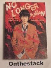 MANGA:   No Longer Human Vol. 1 by Osamu Dazai & Usamaru Furuya (Paperback,2011)