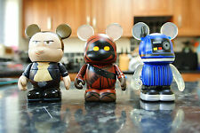 "Disney Star Wars Vinylmation HAN SOLO JAWA & DROID 3"" Figures"