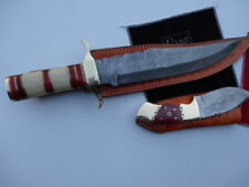 Original Bone Handle Hunting Collectable Fixed Blade Knives
