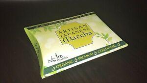 Nostro Organic Matcha Green Tea Powder 8 Sachets