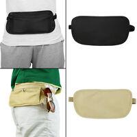 BEST Travel Pouch Hidden Waist Compact Security Money Waist Belt Bag O116 EC