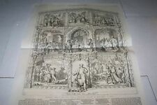#00-0093 12/3/1859 ANTIQUE PRINT (GERMANY) - SCHILLER - SONG OF THE BELL