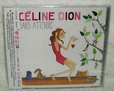 Celine Dion Sans Attendre 2012 Taiwan CD w/OBI