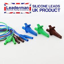ldm603 bleu / VERT/ marron pinces crocodile & Câble de test kit pour KEWTECH