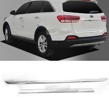 Chrome Rear Trunk Lid Garnish Molding Trim Cover for KIA 2015-2018 Sorento UM