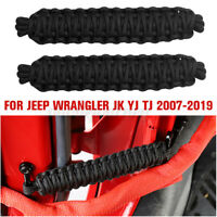 Black Polyester Door Limiting Straps Heavy Duty Strap for Jeep Wrangler JK    H`
